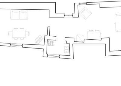 Butera 28 Apartments: Floor plan - Apt. 10