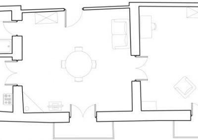 Butera 28 Apartments: Floor plan - Apt. 11
