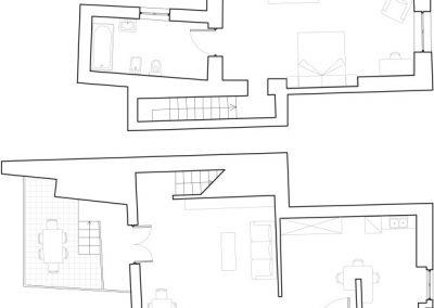Butera 28 Apartments: Floor plan - Apt. 13