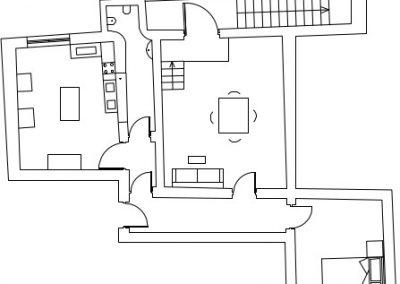 Butera 28 Apartments: Floor plan - Apt. 14