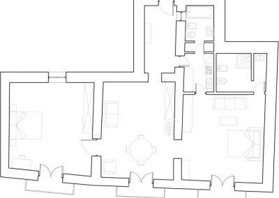 Butera 28 Apartments: Floor plan - Apt. 17