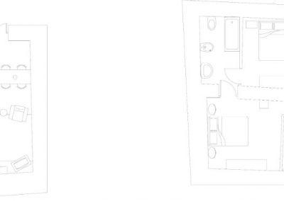 Butera 28 Apartments: Floor plan - Apt. 4