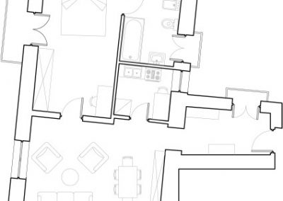 Butera 28 Apartments: Floor plan - Apt. 6