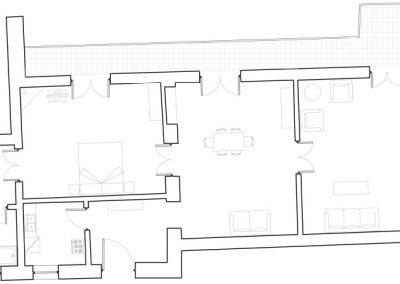 Butera 28 Apartments: Floor plan - Apt. 9